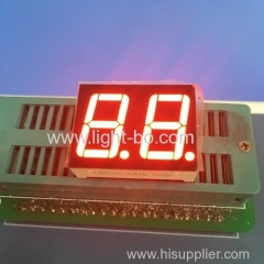 Dual-digit 0.56 inch common cathode ultra bright red 7-Segment LED Display