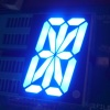 "Ultra blue 1.5"" 16 segment led display common anode for equipment"