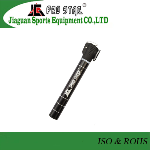 CE Approved Compact Double Action Bike Pump with High Pressure