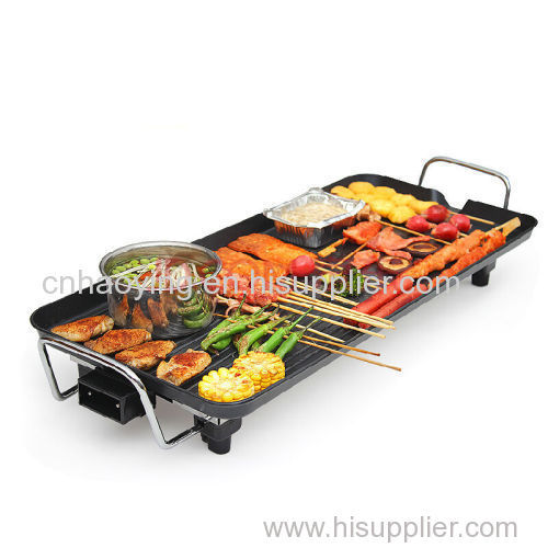 2016 high quality CE ROHS approval 40X23CM 2 layers electric barbecue grill