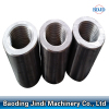reinforcement splicing steel rebar coupler threaded screw rebar coupler
