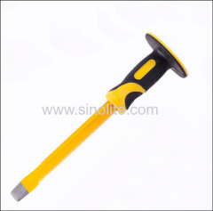 Cold Chisel Flat 20x300mm with Bi-Material Hand Guard