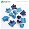 Bullnose Ceramic Curved Swimming Pool Border Edge Tile Accessories With Mosaic