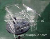 Specializing in The Production of Quartz Cleaning a Square Cylinder (cleaning tank) Quartz Heating Tank
