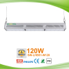 Warehouse lighting 120w 120lm/w IP65 energy saving LED linear high bay light with Mean Well
