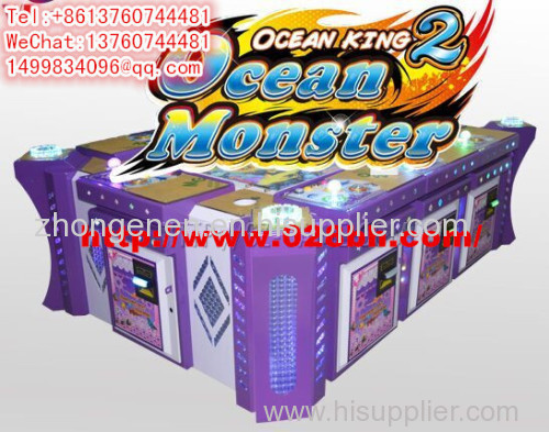 Ocean king2 fishing game machine electronic