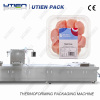 chicken meat thermoforming vacuum packing machine