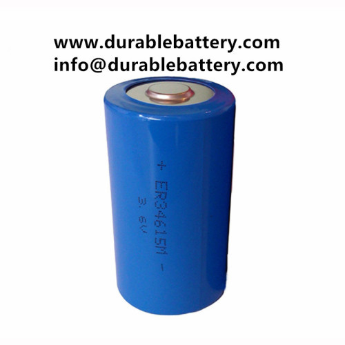 primary lithium battery ER34615 3.6V D 34615 19000mAh 1.9Ah lisocl2 battery LS34615 for Smart Lock Marine GPS Tracking