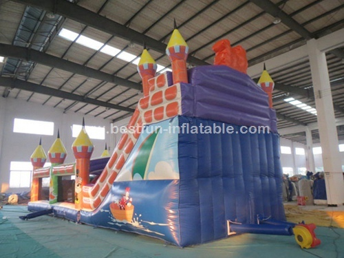 Mickey mouse bounce house inflatable obstacle game