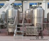 500L three vessel electric heating craft beer equipment for sale