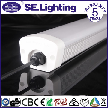 Indoor& Outdoor IP65 40W 4ft LED Batten Light