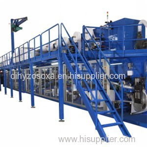 High Speed Full Automatic Economic Adult Diaper Machine
