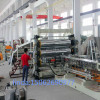 Twin screw extrude sheet extrusion line