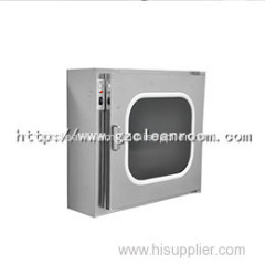 Air Shower type Cleanroom pass Through Box with Stainless steel