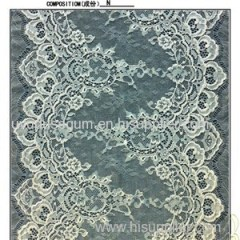 35cm White Lace Trim Lace scalloped Trimmings galloon lace cotton ribbon (E0011)