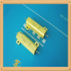 Aluminum shell wire wound resistors