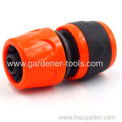 Plastic soft 3/4 inch garden water snap in quick connector