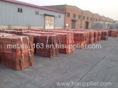 Copper Cathode Electrolytic Copper Cathodes Electrolytic Copper 99.97~99.99%