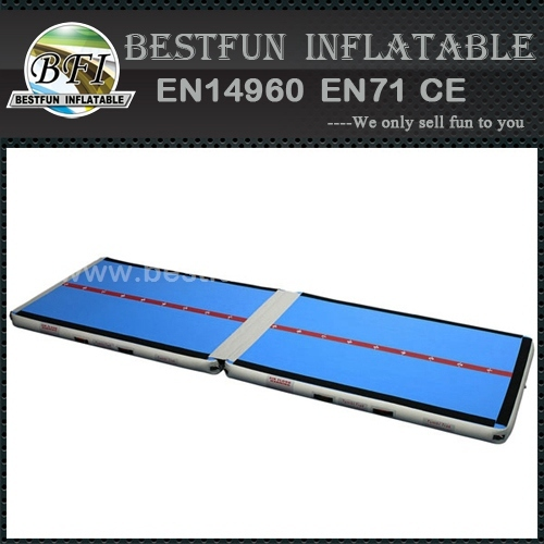 Gymnastic equipments inflatable crash mat for home use