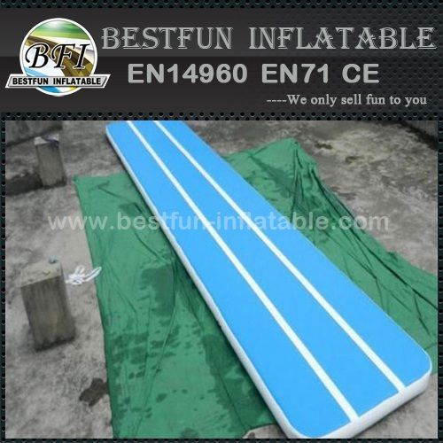 Inflatable custom made fitness tumbling mats
