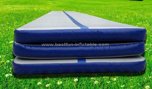 Inflatable water floating Yoga mat in water