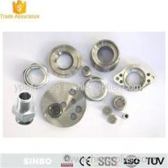 Electroless Plating Aluminum flanged nut hex flange