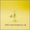 0.3ML Clear Intergrated W/Micro-Insert base bonded / Crimp vials
