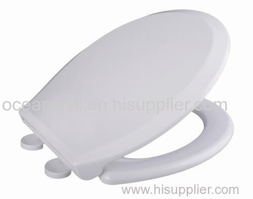 Soft Close Plastic PP Toilet Seats with smart take off hinge