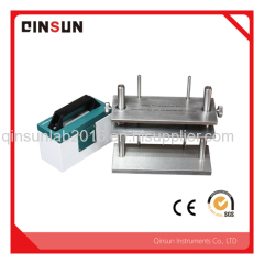 Stainless steel frame perspiration color fastness tester