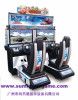hot sale china supplier 32 LCD outrun simulator racing game machine