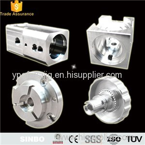 Custom Precision Aluminum CNC Machine Parts Center Metal Parts