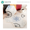 Hexagonal Ceramic Tile Best Vintage Commercial Restaurant Floor Tiles