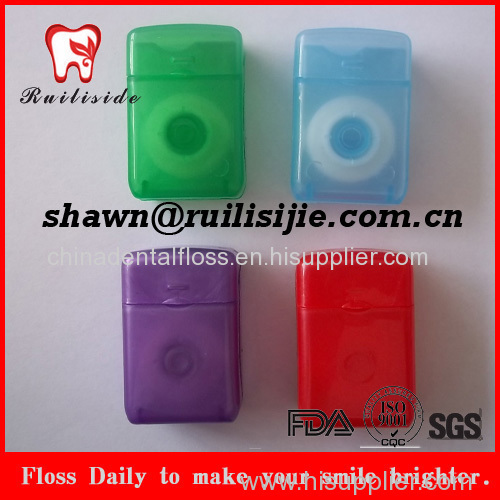 rectangle shape dispenser dental floss