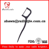 bamboo charcoal dental floss pick