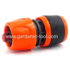 Plastic soft 19mm garden hose waterstop quick connector