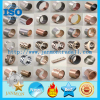 SF 1 Oilless Bearing DU Bushing Metric Or Inch Bronze Based Bearing Carbon Steel Stainless Steel Bushing With PTFE