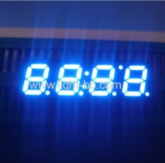 4 digit 7mm ultra blue common anode 7 segment led clock display