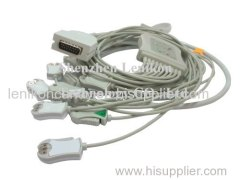 Burdick 10 leads ECg Cable Cilp(AHA)
