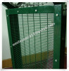 PVC coated anti climb mesh.358 high security welded fence