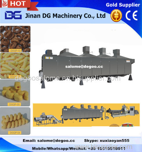 Corn Puff Snack Food Making Machine Production Line
