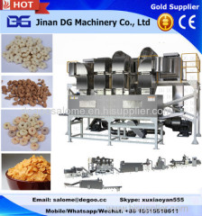 Automatic Fruit Loops/Choco chips cereals snack food making machine production line