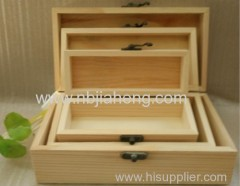 Special Oak and Pine Wooden Box Keepsake Storage Boxes