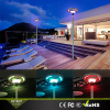 High Power Solar Plazza Led Light With RGB Color remote control