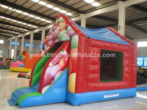 Popular Colorful Inflatable Big Bounce House