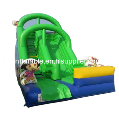 Classic Dora Giant Inflatable Slide For Sale