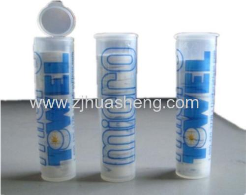 Tube package Compressed Towels
