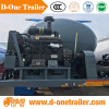2016 New Type Bulk Cement / Powder Material Transport Tanker truck Semi-trailer