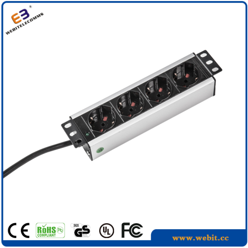 4 way 10inch Italy PDU with indicator light