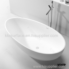 factory supply custom made free standing oval bathtub