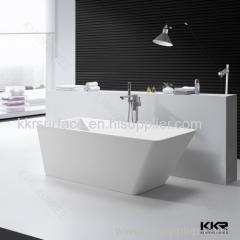 Hotel bathroom solid surface bathtubs small size